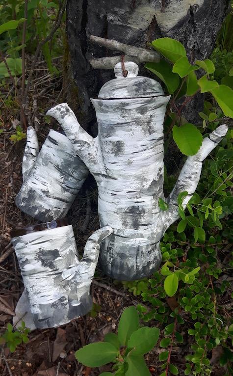 Aspen Tree-Pot Set