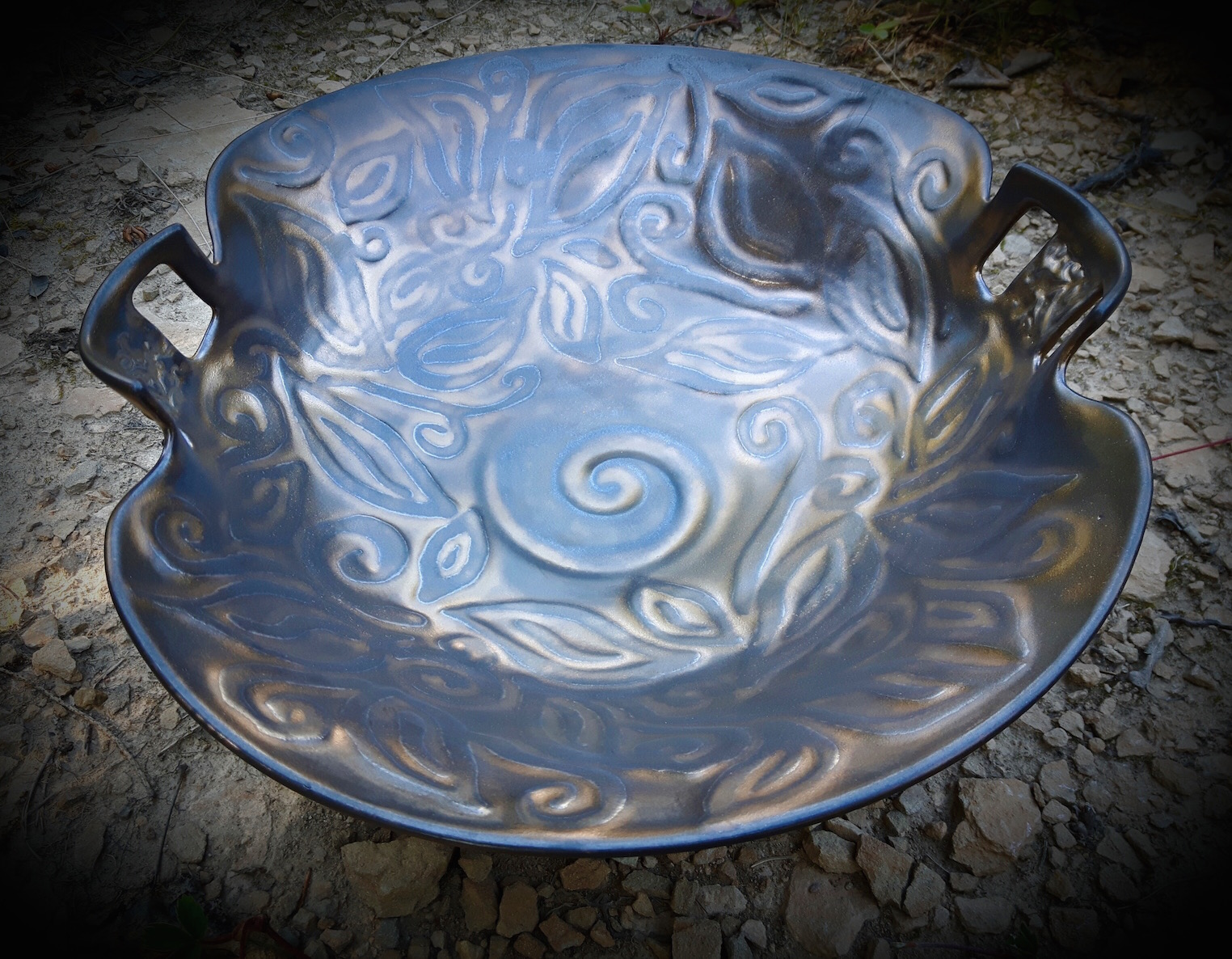 Leaf Embossed Bowl