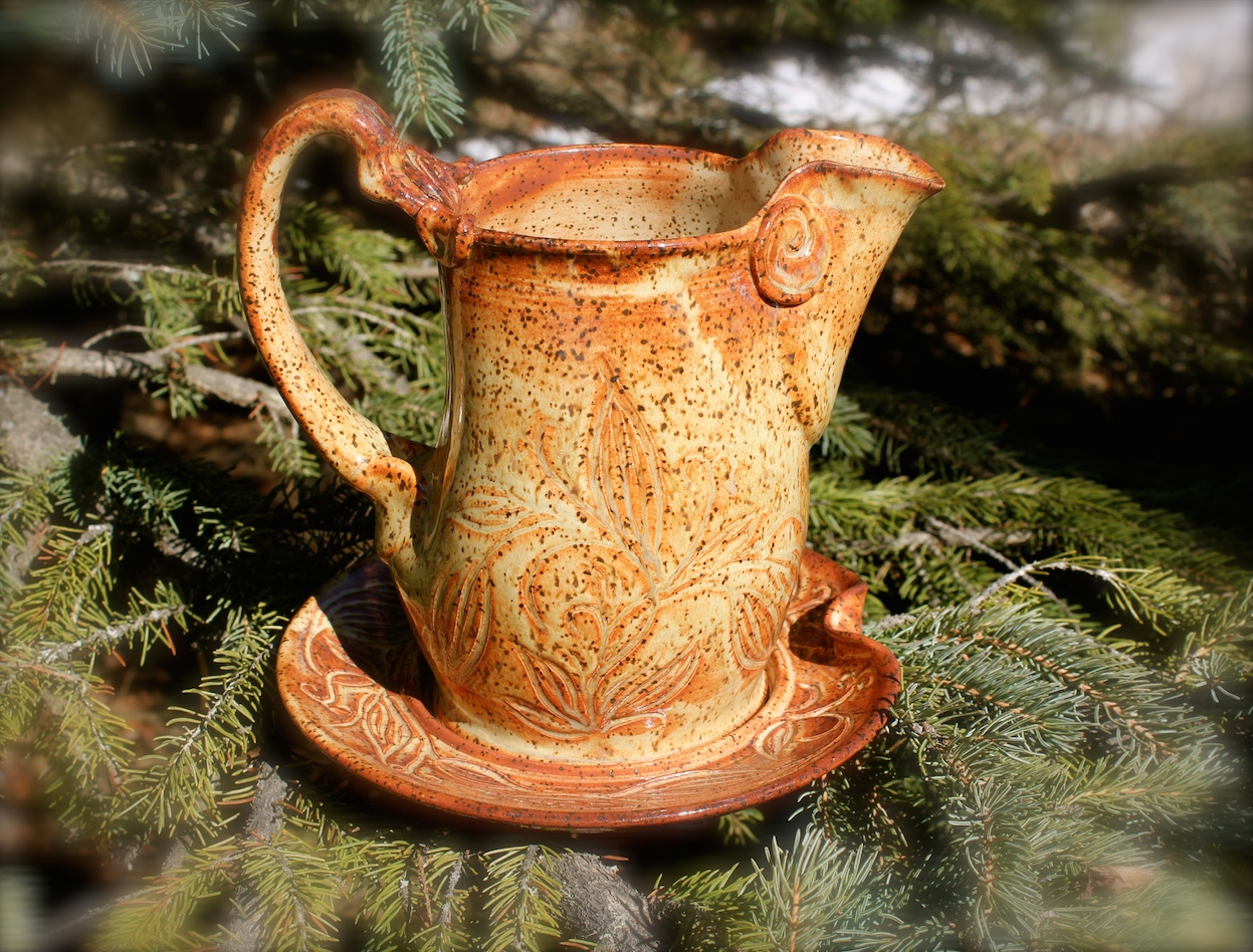 """Rustic"" Gravy Pitcher Set"